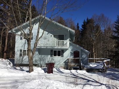 Photo for Cozy Mt Snow Ski Chalet Renovated 5BR, 3BA 1/2 Mile From Mountain