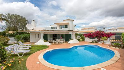 Photo for A pretty, family villa in the charming and peaceful residential area of  Alamos