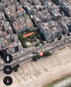 Photo for Apartment in Copacabana two blocks from the beach