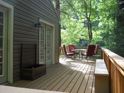 Photo for Sleepy Hollow Lodge pond front retreat