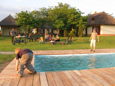 Photo for Holiday home with pool for riders, dogs, nature lovers 80 km south of Budapest