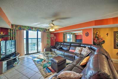 This North Myrtle Beach home offers 1,800 square feet of living space.