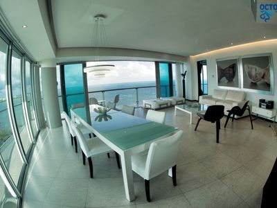 Photo for OCEAN VIEW APARTMENT IN CANCUN.