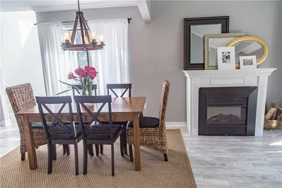 Turnberry 211 - Dining Room with Fireplace