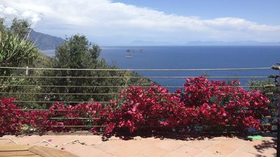 Photo for Holiday home with stunning views over the sea in the land of sirens - Amalfi Coast