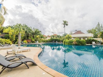 Photo for BT214 - BangTao Beach apartment with pool and gym