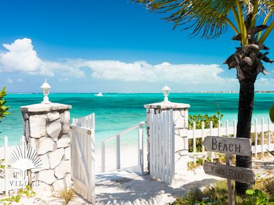 Photo for Reef Beach House // family vacation dream home // Grace Bay Beach