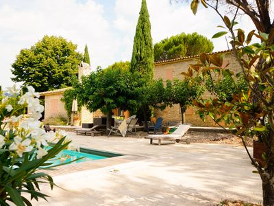 Photo for Large Mas of 220m2 in Gordes in a park of 8000m2