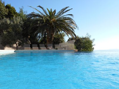 Photo for AURO house with private pool, sea and St Tropez, private parking, wifii