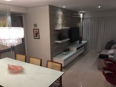 Photo for Apartment 3 Rooms, finely decorated. Condominium Infrastructure Complete.