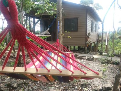 Photo for Heliconia is a self catering studio cabin with jungle facing private balcony
