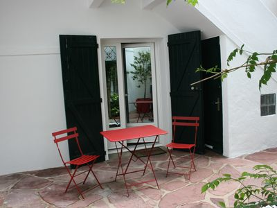 Photo for nice studio 3 people in the DRC with patio, downtown Saint Jean de Luz