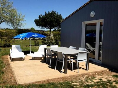 Photo for Camping Flower Les Ilates **** - Maisonnette Confort Plus 3 rooms 4 persons