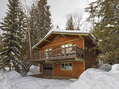 Photo for Full remodel in 2018 - new everything - pool, hot tub, whitefish lake access