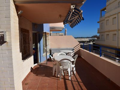 Photo for Wonderful and comfortable apartment  with communal pool in Oliva, on the Costa Blanca, Spain for 4 persons