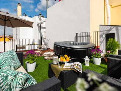 Photo for Amazing house with 2 terraces close to Maestranza Bullring