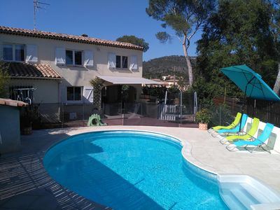 Photo for Villa St Raphael Bouloris 8 perssonne with private picine
