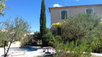 Photo for HOUSE BASTIDE PRIVATE SWIMMING POOL GARDEN CLOSING (BRIDGE DU GARD AND UZES)