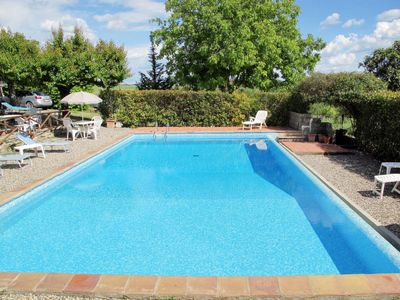 Photo for Vacation home Podere Cignanbianco (CTC241) in Castellina in Chianti - 6 persons, 3 bedrooms