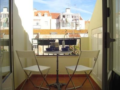 Photo for Apartment in the center of Lisbon with Internet, Terrace, Washing machine (387255)