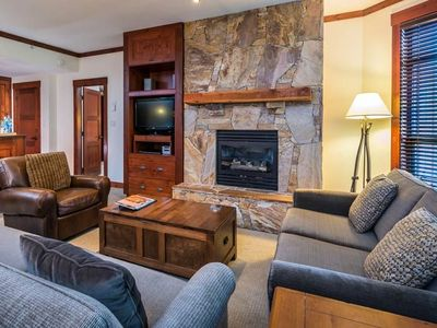 Photo for Hike + Ski | Elegant Suite + Cozy Fireplace