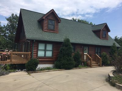 Photo for Beautiful Cabin located 14 miles from Tryon Equestrian Center TIEC