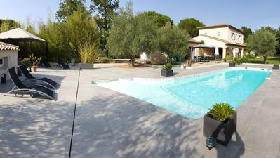 Photo for A comfortable villa in a quiet place in the French Riviera. Ideal for children and their parents