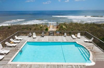 Photo for Ocean View, Oceanfront Pool and Direct Beach Access!