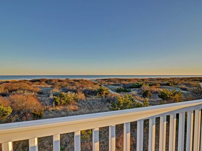 Photo for Large Beach Front Property with Beach Views, Large Deck, and Grill