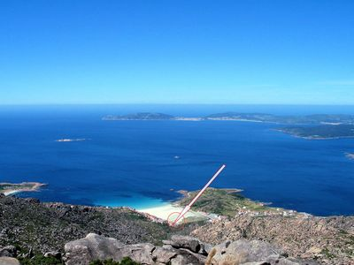 Photo for relax in the natural - with stunning sea views on the Galician coast