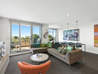 Photo for Modern 2 bedroom, 2 bathroom fully self contained apartment in Lorne.