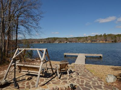 Photo for Lake Front Hot Springs Village Vacation Retreat