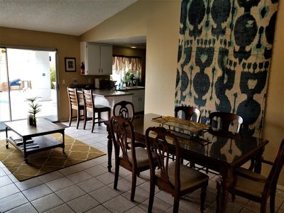 Photo for Perfect location, quiet, clean, game-room, piano, just minutes west of the Strip