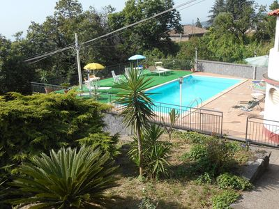 Photo for Panoramic Casavacanza in Villa with Pool on the slopes of the ETNA SUNSET