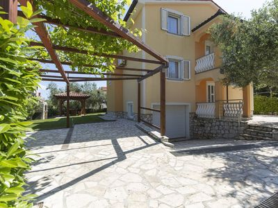 Photo for Spacious apartment with sea view 15 minutes drive from Rabac and Labin