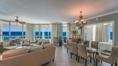 Photo for P3-1901 Elite Rated three Bedroom Gulf Front Skyhome  Direct Gulf Views!