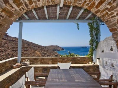 Photo for Tinos traditional villa 60 m from sea