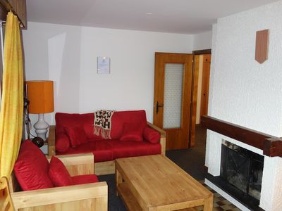 Photo for Apartment 2 rooms, 3 * 4-6 people located in the resort center, 300m from the skilift. Bright living