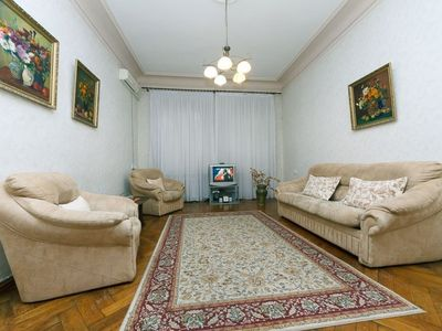 Photo for Business-class 1-bdrm Apartment in the Center of Kyiv