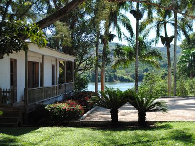 Photo for Original 19th Century Coffee Plantation Front Lake Wooden House.