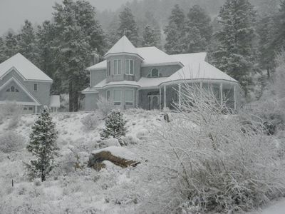 Skyline Retreat in Winter