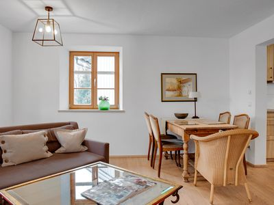 """Photo for Charming Apartment """"Ferienwohnung Hollunder"""" with Mountain View, Wi-Fi, Balcony & Garden; Parking Available"""