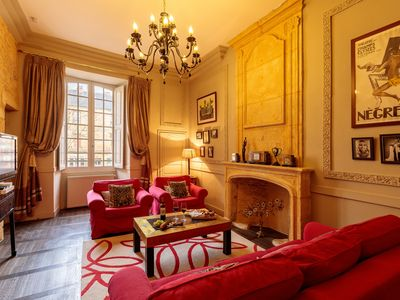 Photo for Spacious and Elegant Romantic apartment in the very Heart of Sarlat