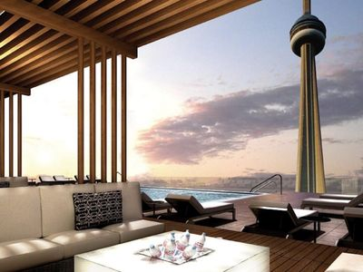 Photo for Lake & City View, CN Tower Suite Free parking