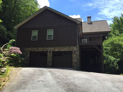 Photo for Newer Constructed Large Mountain Home In Gated club w new outdoor large hot tub