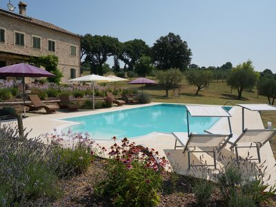 "Photo for Villa with Private Pool, ""A Slice of Heaven"", set in 12 acres of olive groves"