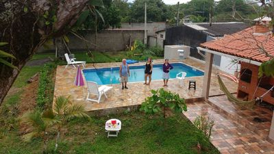 Photo for house with pool in Peruibe, sleeps family with children