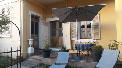 Photo for Ground floor for spa treatments or holidays in Aix-les-Bains