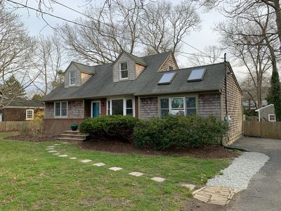 Photo for Cozy Bungalow with Pool, near beach, walking distance to Jitney, Park and Town