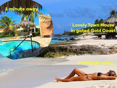 Lovely Town House in gated Gold Coast - Beach - Pool - Private & Safe